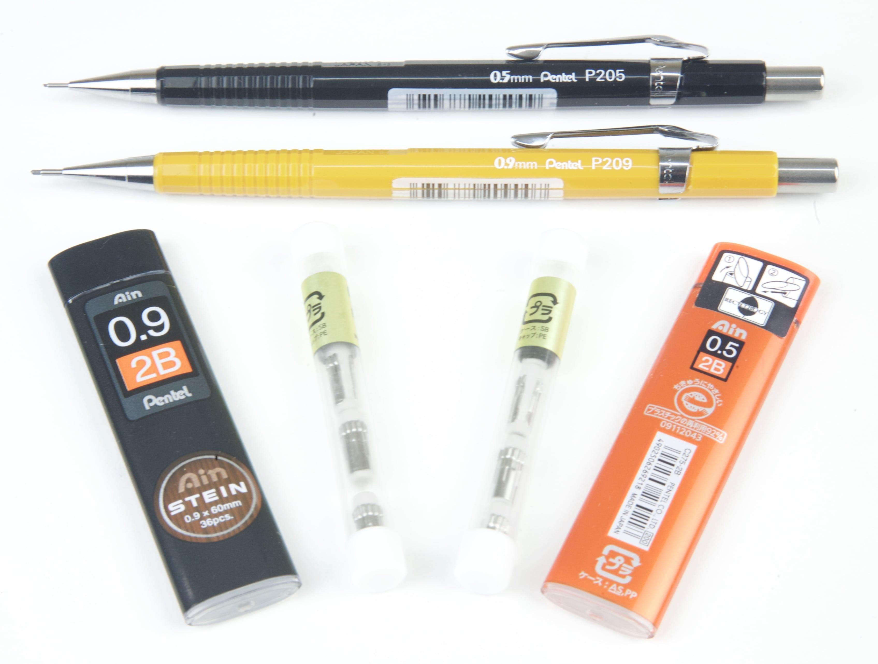 Pentel Mechanical Pencils & Accessories